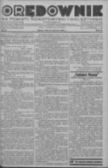 Orędownik na powiaty nowotomyski i wolsztyński 1937.06.26 R.18 Nr69