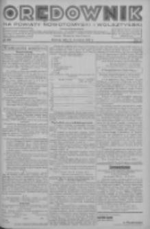 Orędownik na powiaty nowotomyski i wolsztyński 1937.09.21 R.18 Nr105