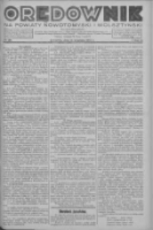 Orędownik na powiaty nowotomyski i wolsztyński 1937.09.23 R.18 Nr106