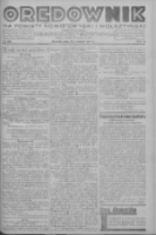 Orędownik na powiaty nowotomyski i wolsztyński 1937.09.28 R.18 Nr108