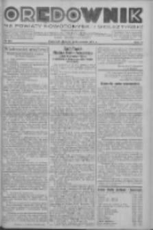 Orędownik na powiaty nowotomyski i wolsztyński 1937.10.14 R.18 Nr115