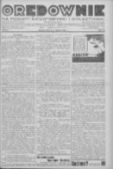 Orędownik na powiaty nowotomyski i wolsztyński 1937.11.06 R.18 Nr124