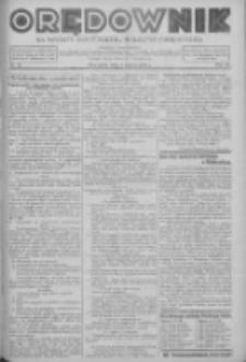 Orędownik na powiaty Nowy Tomyśl, Wolsztyn i Międzychód 1939.03.09 R.20 Nr28