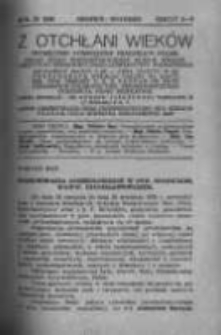 Z Otchłani Wieków. 1936 R.11 z.8-9