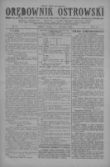 Orędownik Ostrowski: pismo na miasto i powiaty Ostrowski i Odolanowski oraz miast Ostrowa, Odolanowa, Sulmierzyc i Raszkowa 1927.09.20 R.76 Nr75