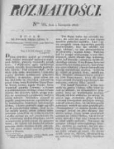 Rozmaitości. Pismo Dodatkowe do Gazety Lwowskiej. 1825 R.5 nr44