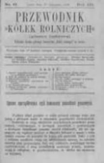 """Przewodnik """"Kółek rolniczych"""". Pismo Ludowe. R. III. 1891. Nr 11"""