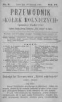 """Przewodnik """"Kółek rolniczych"""". Pismo Ludowe. R. IV. 1892. Nr 8"""