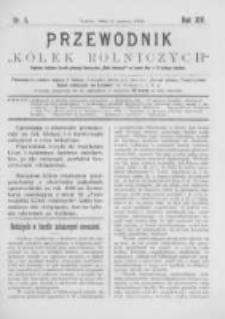 """Przewodnik """"Kółek rolniczych"""". R. XIV. 1900. Nr 5"""