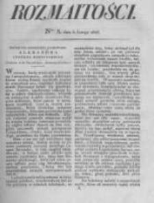 Rozmaitości. Pismo Dodatkowe do Gazety Lwowskiej. 1826 R.5 nr5