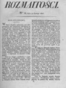 Rozmaitości. Pismo Dodatkowe do Gazety Lwowskiej. 1826 R.5 nr6