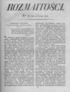 Rozmaitości. Pismo Dodatkowe do Gazety Lwowskiej. 1826 R.5 nr8