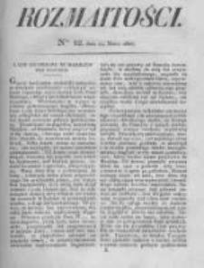 Rozmaitości. Pismo Dodatkowe do Gazety Lwowskiej. 1826 R.5 nr12