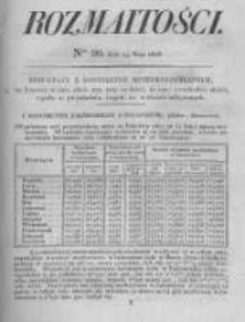 Rozmaitości. Pismo Dodatkowe do Gazety Lwowskiej. 1826 R.5 nr20