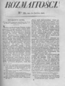 Rozmaitości. Pismo Dodatkowe do Gazety Lwowskiej. 1826 R.5 nr26
