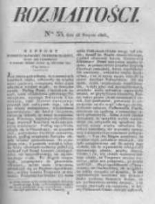 Rozmaitości. Pismo Dodatkowe do Gazety Lwowskiej. 1826 R.5 nr33