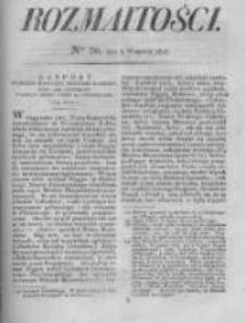 Rozmaitości. Pismo Dodatkowe do Gazety Lwowskiej. 1826 R.5 nr36