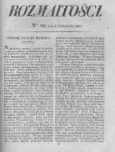 Rozmaitości. Pismo Dodatkowe do Gazety Lwowskiej. 1826 R.5 nr40