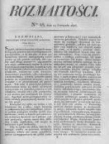 Rozmaitości. Pismo Dodatkowe do Gazety Lwowskiej. 1826 R.5 nr45