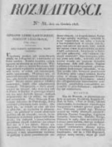 Rozmaitości. Pismo Dodatkowe do Gazety Lwowskiej. 1826 R.5 nr51