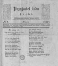 Przyjaciel Ludu Łecki. 1844 nr1