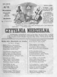Czytelnia Niedzielna. 1857 R.2 nr12