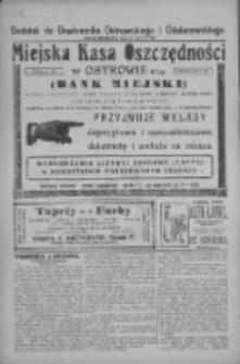 Dodatek do Orędownika Ostrowskiego i Odolanowskiego 1927.06.10