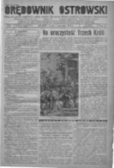 Orędownik Ostrowski: pismo na powiat ostrowski i miasto Ostrów, Odolanów, Mikstat, Sulmierzyce, Raszków i Skalmierzyce 1938.01.05 R.87 Nr2