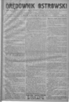 Orędownik Ostrowski: pismo na powiat ostrowski i miasto Ostrów, Odolanów, Mikstat, Sulmierzyce, Raszków i Skalmierzyce 1938.01.10 R.87 Nr4
