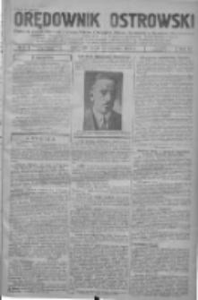 Orędownik Ostrowski: pismo na powiat ostrowski i miasto Ostrów, Odolanów, Mikstat, Sulmierzyce, Raszków i Skalmierzyce 1938.01.12 R.87 Nr5