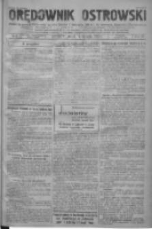 Orędownik Ostrowski: pismo na powiat ostrowski i miasto Ostrów, Odolanów, Mikstat, Sulmierzyce, Raszków i Skalmierzyce 1938.01.14 R.87 Nr6