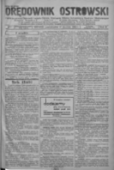 Orędownik Ostrowski: pismo na powiat ostrowski i miasto Ostrów, Odolanów, Mikstat, Sulmierzyce, Raszków i Skalmierzyce 1938.01.17 R.87 Nr7