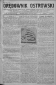 Orędownik Ostrowski: pismo na powiat ostrowski i miasto Ostrów, Odolanów, Mikstat, Sulmierzyce, Raszków i Skalmierzyce 1938.03.30 R.87 Nr38