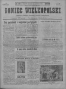 Goniec Wielkopolski: najstarszy i najtańszy niezależny dziennik demokratyczny 1930.08.10 R.54 Nr184