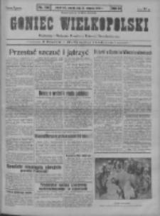 Goniec Wielkopolski: najstarszy i najtańszy niezależny dziennik demokratyczny 1930.08.19 R.54 Nr190