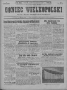Goniec Wielkopolski: najstarszy i najtańszy niezależny dziennik demokratyczny 1930.08.21 R.54 Nr192