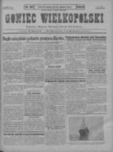 Goniec Wielkopolski: najstarszy i najtańszy niezależny dziennik demokratyczny 1930.08.26 R.54 Nr196