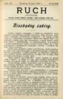 Ruch: dwutygodnik poświęcony sprawom wychowania fizycznego i w ogóle normalnego rozwoju ciała 1909.03.26 R.4 No.6=72