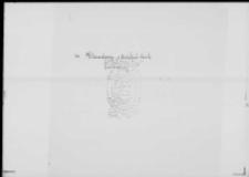 Spis uczestników Powstania 1830-1831 poległych w niewoli na emigracji sporządzony prawdopodobnie ręką Klaudyny z Działyńskich Potockiej