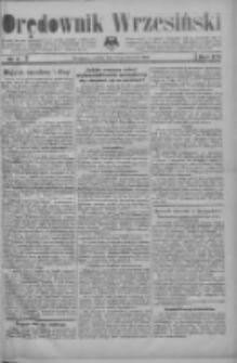 Orędownik Wrzesiński: organ urzędowy na powiat wrzesiński 1934.01.13 R.16 Nr5