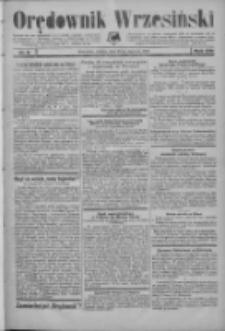 Orędownik Wrzesiński: organ urzędowy na powiat wrzesiński 1934.01.20 R.16 Nr8