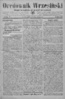 Orędownik Wrzesiński: organ urzędowy na powiat wrzesiński 1934.01.27 R.16 Nr11