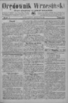 Orędownik Wrzesiński: organ urzędowy na powiat wrzesiński 1934.02.08 R.16 Nr16
