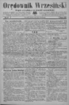 Orędownik Wrzesiński: organ urzędowy na powiat wrzesiński 1934.02.10 R.16 Nr17