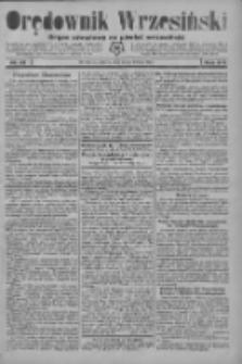 Orędownik Wrzesiński: organ urzędowy na powiat wrzesiński 1934.02.24 R.16 Nr23