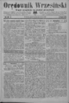 Orędownik Wrzesiński: organ urzędowy na powiat wrzesiński 1934.03.01 R.16 Nr25