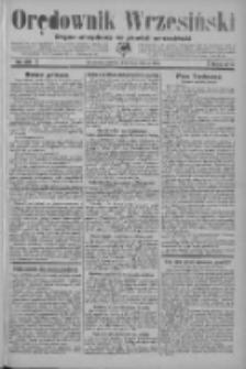 Orędownik Wrzesiński: organ urzędowy na powiat wrzesiński 1934.03.03 R.16 Nr26