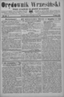 Orędownik Wrzesiński: organ urzędowy na powiat wrzesiński 1934.03.13 R.16 Nr30