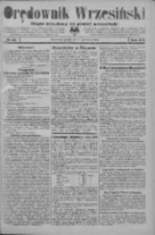 Orędownik Wrzesiński: organ urzędowy na powiat wrzesiński 1934.03.17 R.16 Nr32