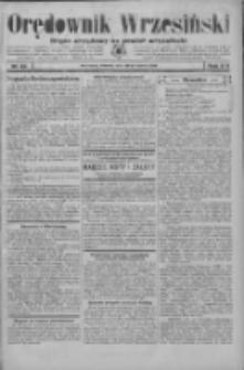 Orędownik Wrzesiński: organ urzędowy na powiat wrzesiński 1934.03.20 R.16 Nr33